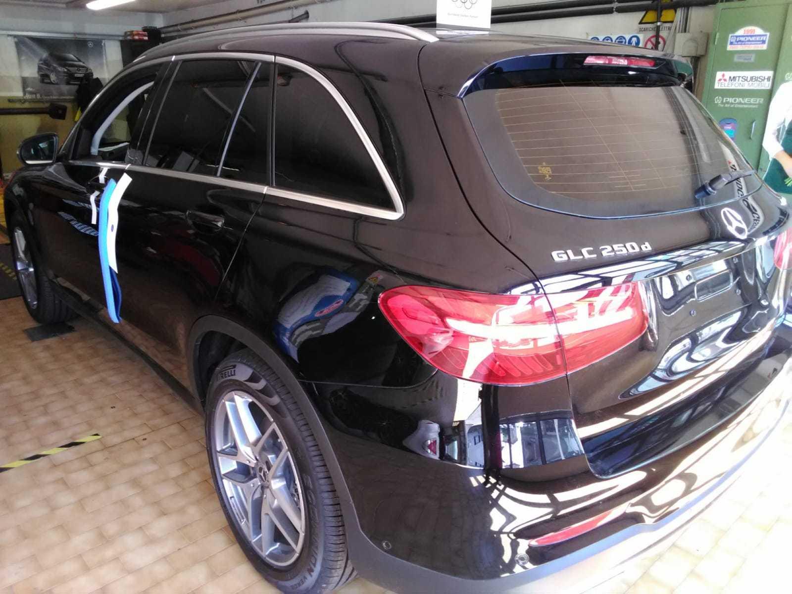 Pellicole vetri Mercedes GLK