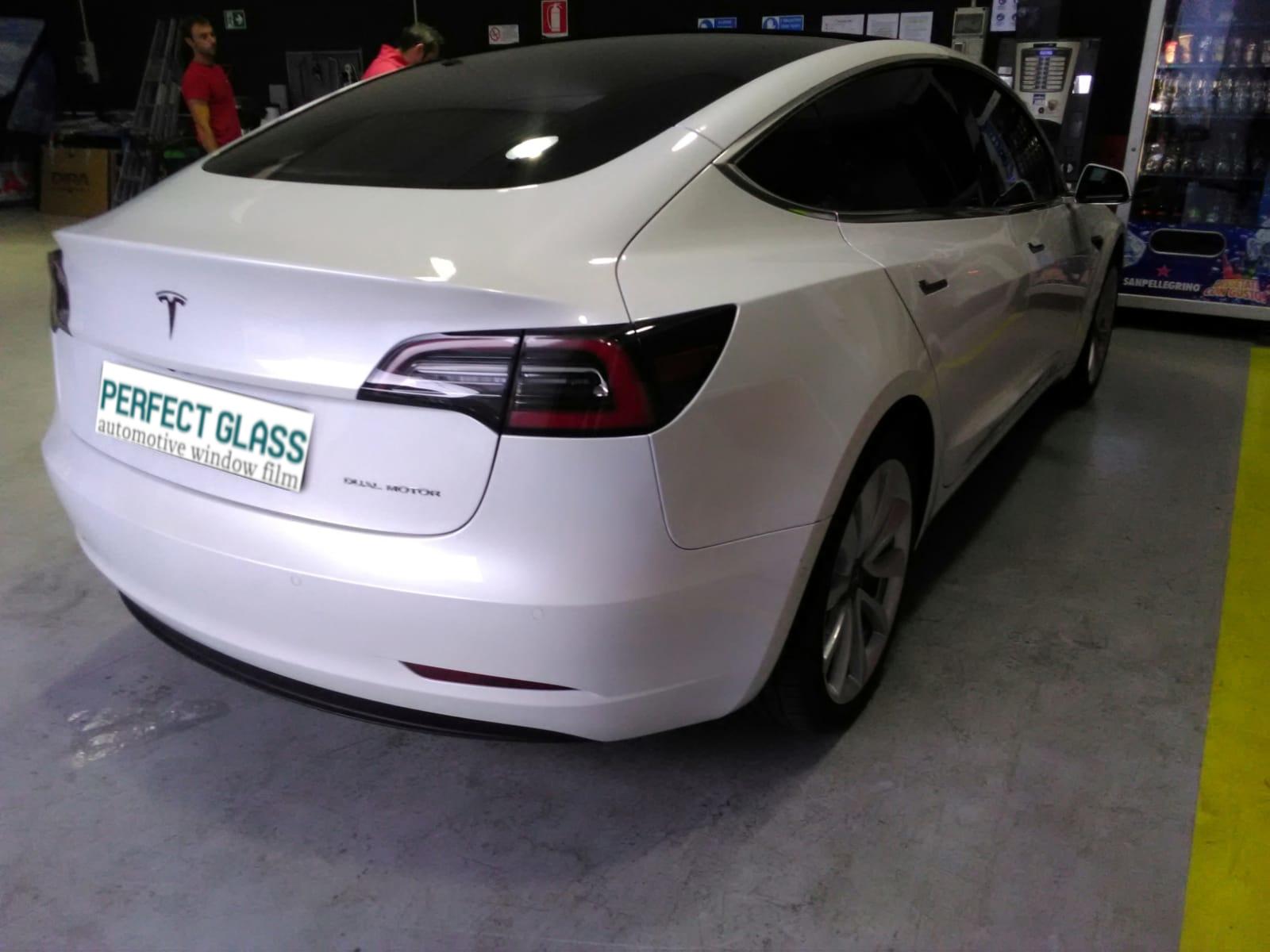 Pellicole vetri Tesla
